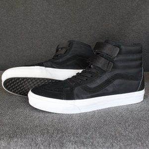 Vans Sk8-Hi Velcro Pull On Strap, Black